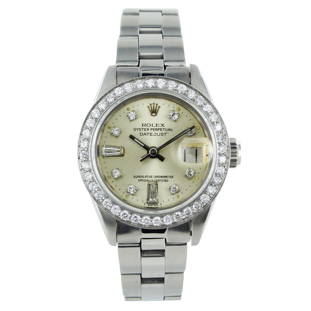 ROLEX DATEJUST 26 MM 69160 DIAMOND BEZEL