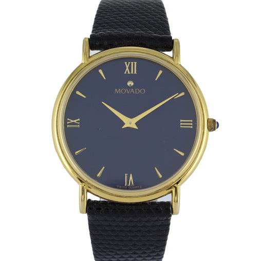 MOVADO MUSEUM VINTAGE GOLD WATCH