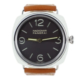 PANERAI RADIOMIR 232 BLACK DIAL LEATHER BAND