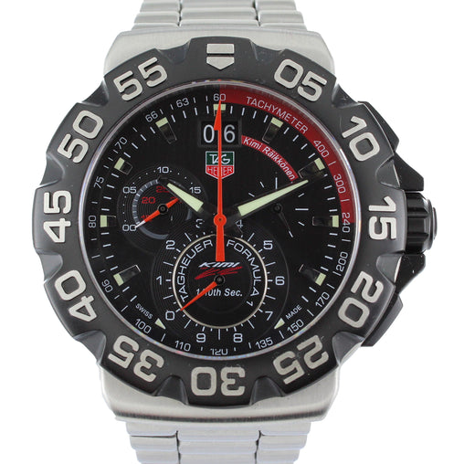 TAG HEUER FORMULA 1 LIMITED EDITION KIMI RAIKKONEN MENS WATCH