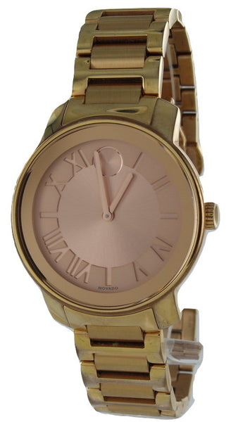 MOVADO BOLD GOLD WATCH