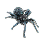 DIAMOND TARANTULA SPIDER PENDANT CUSTOM MADE DAMON DASH BLUE & BLACK DIAMONDS GOLD