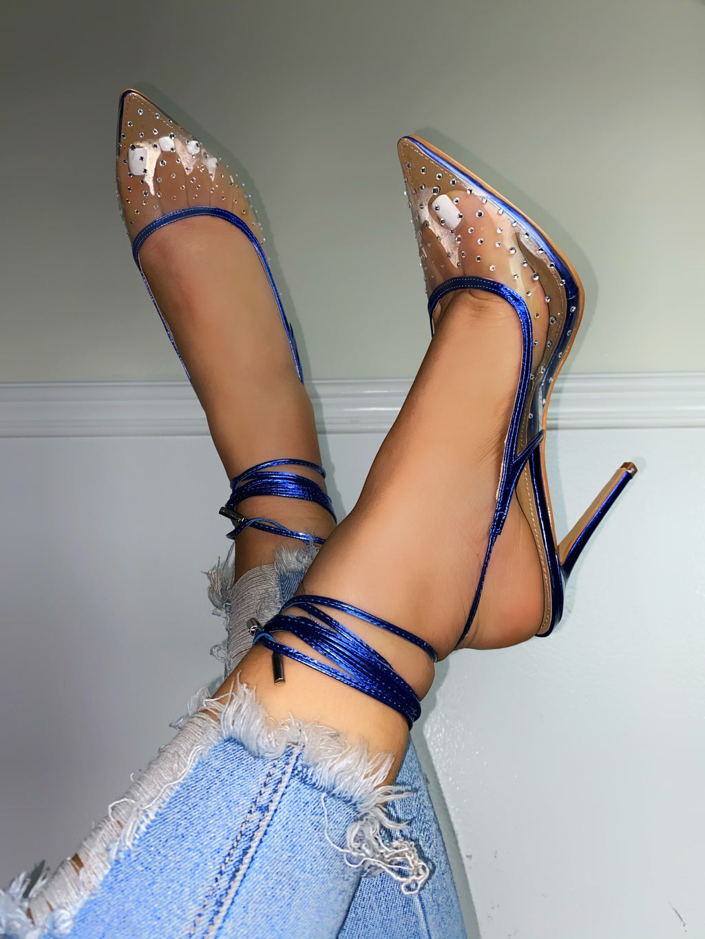 Royalty Heels-Blue