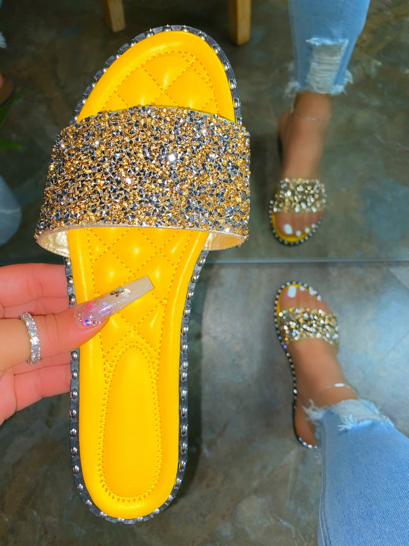 Luna Sandals - Yellow