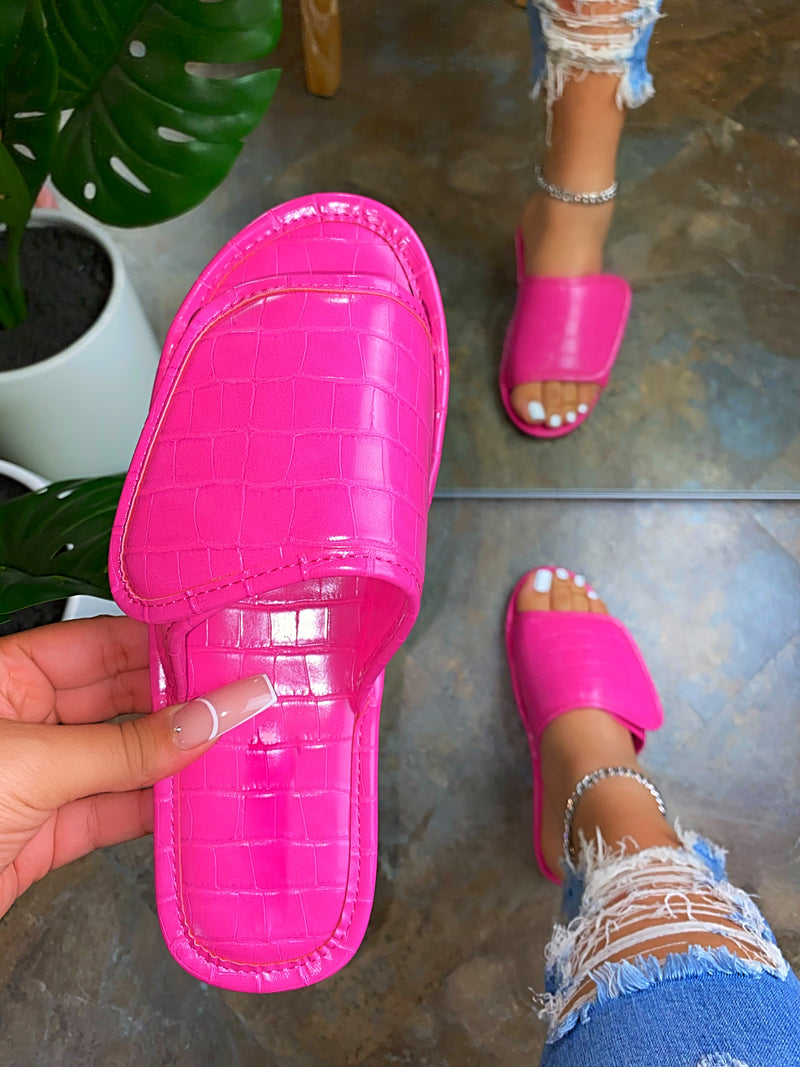 North Velcro Sandals - Pink