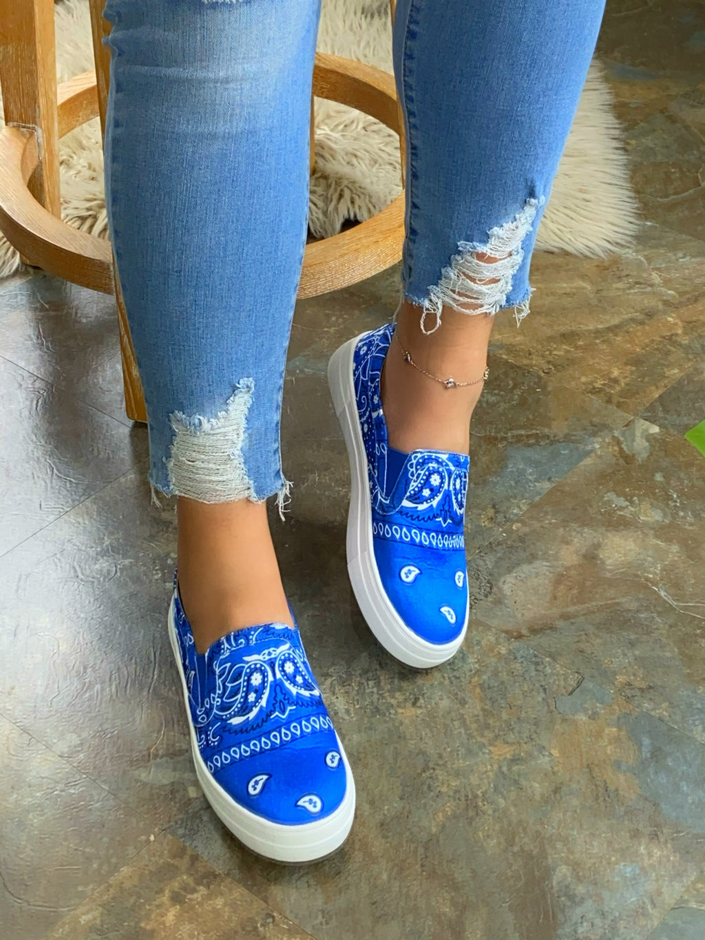 Carter Sneakers - Blue