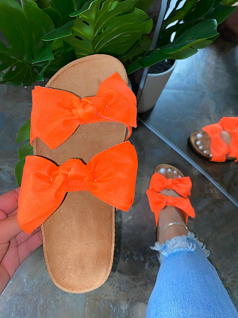 Minny Sandals - Orange