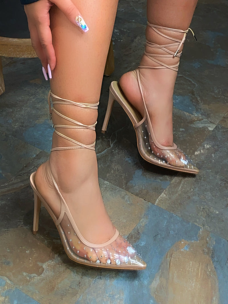Royalty Heels- Nude