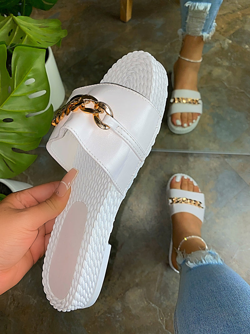 Sunny Espadrille Sandals - White