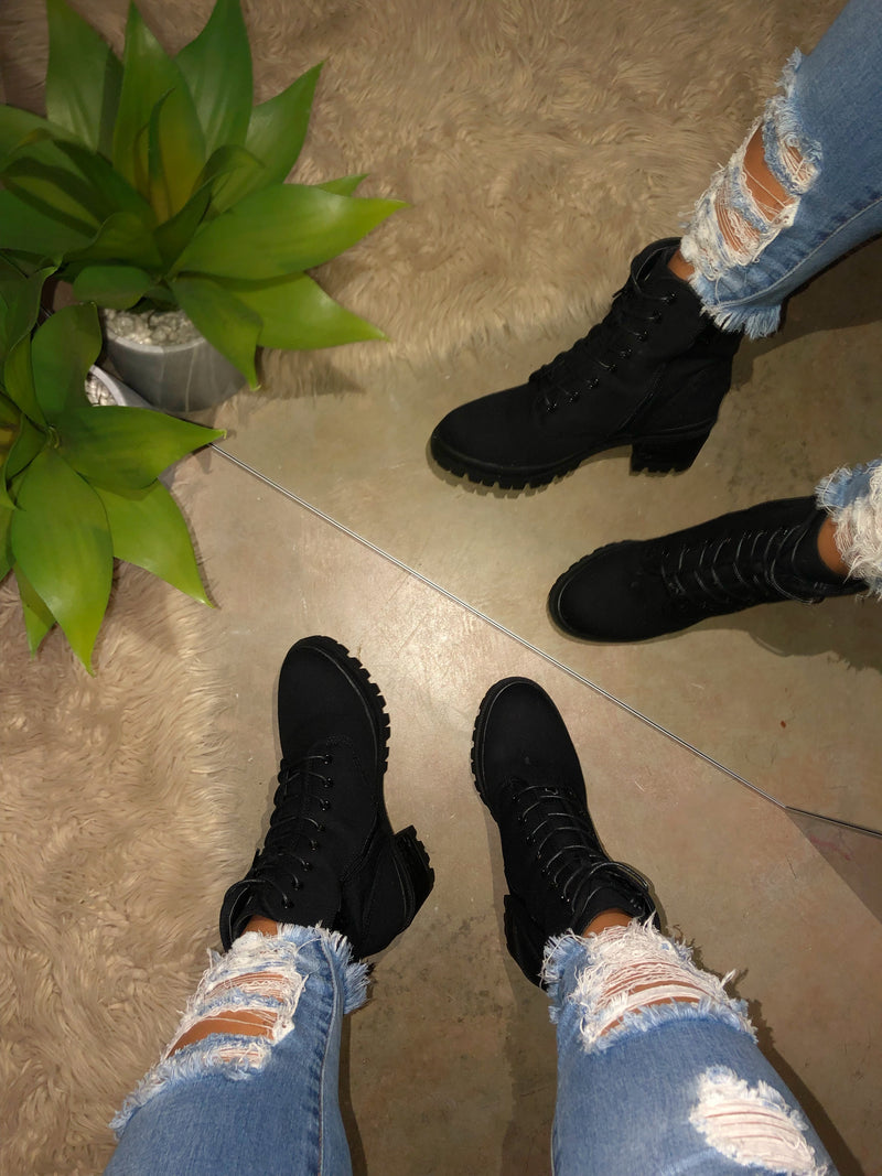 Travis Booties - Black