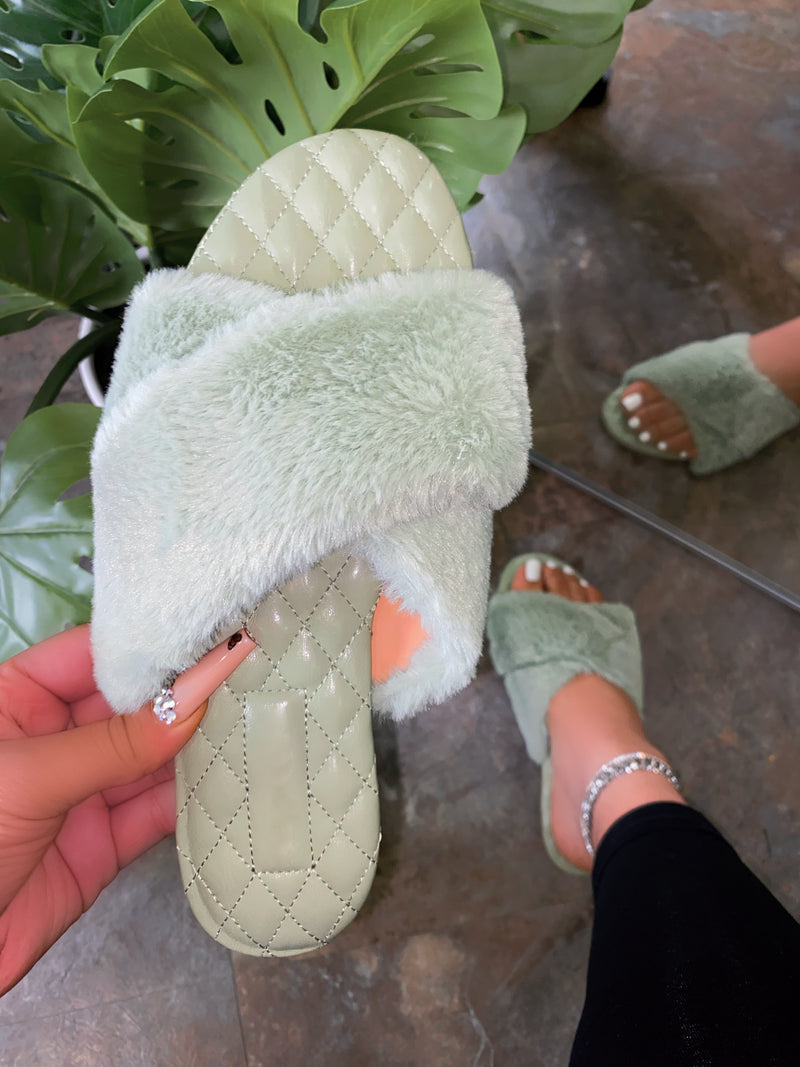 Brittany Sandals - Mint