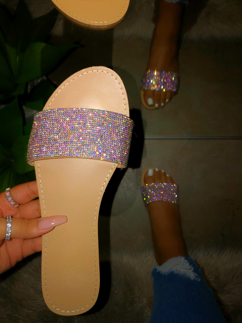 Glammie Bedazzled Sandals