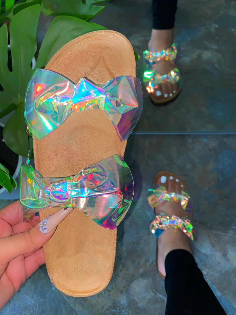 Minny Sandals - Hologram