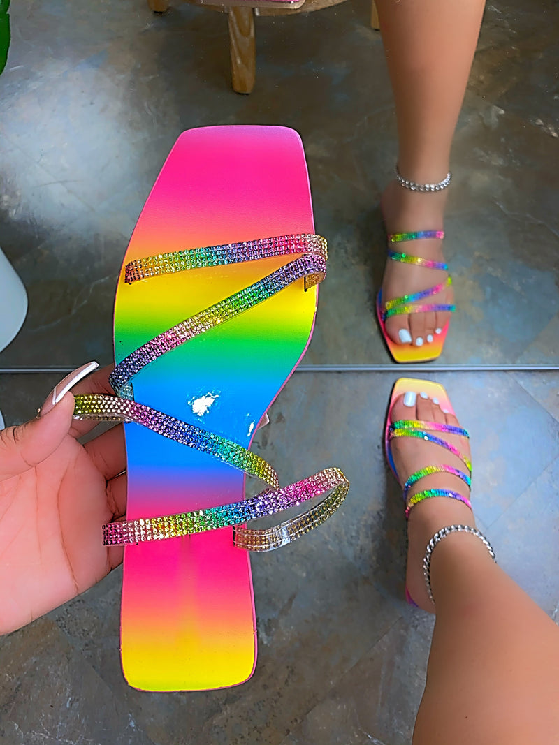 Ensley Sandals -Rainbow