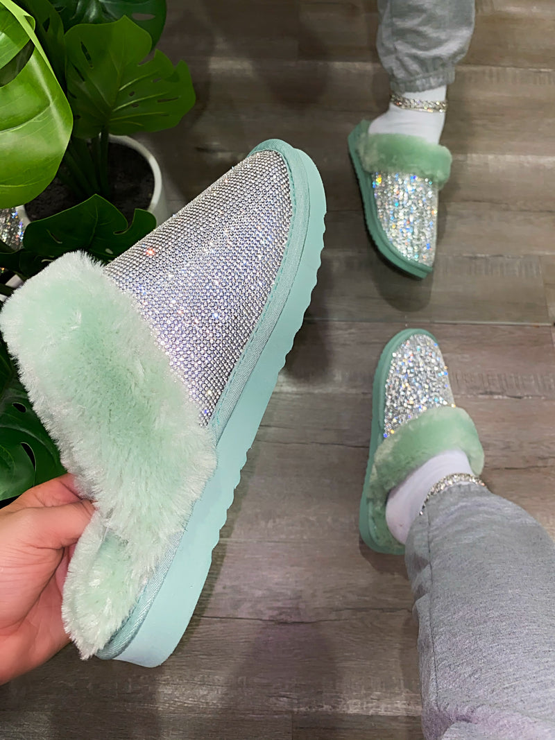 Royce Slippers- Mint