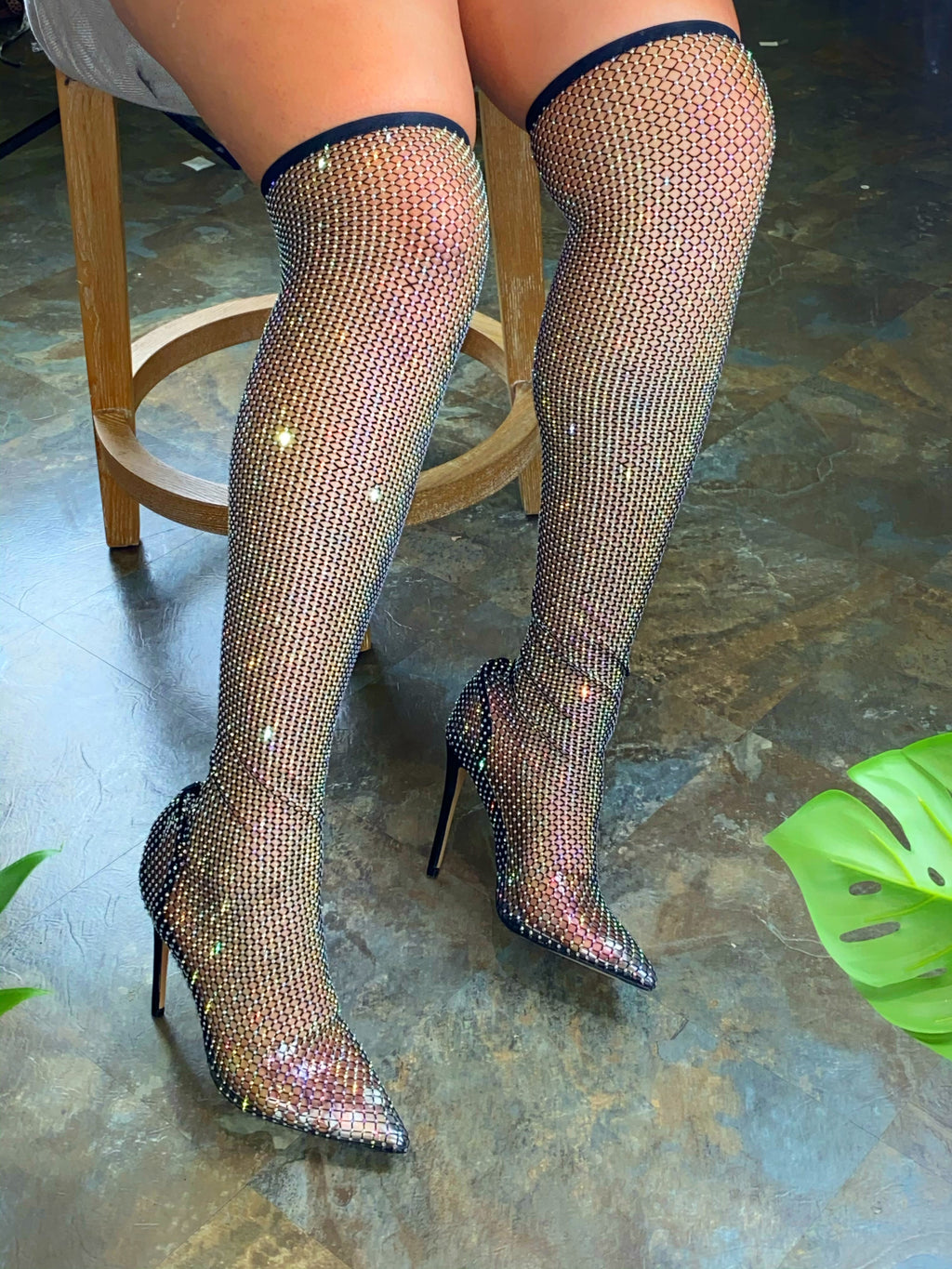 Rosie Thigh High Heels