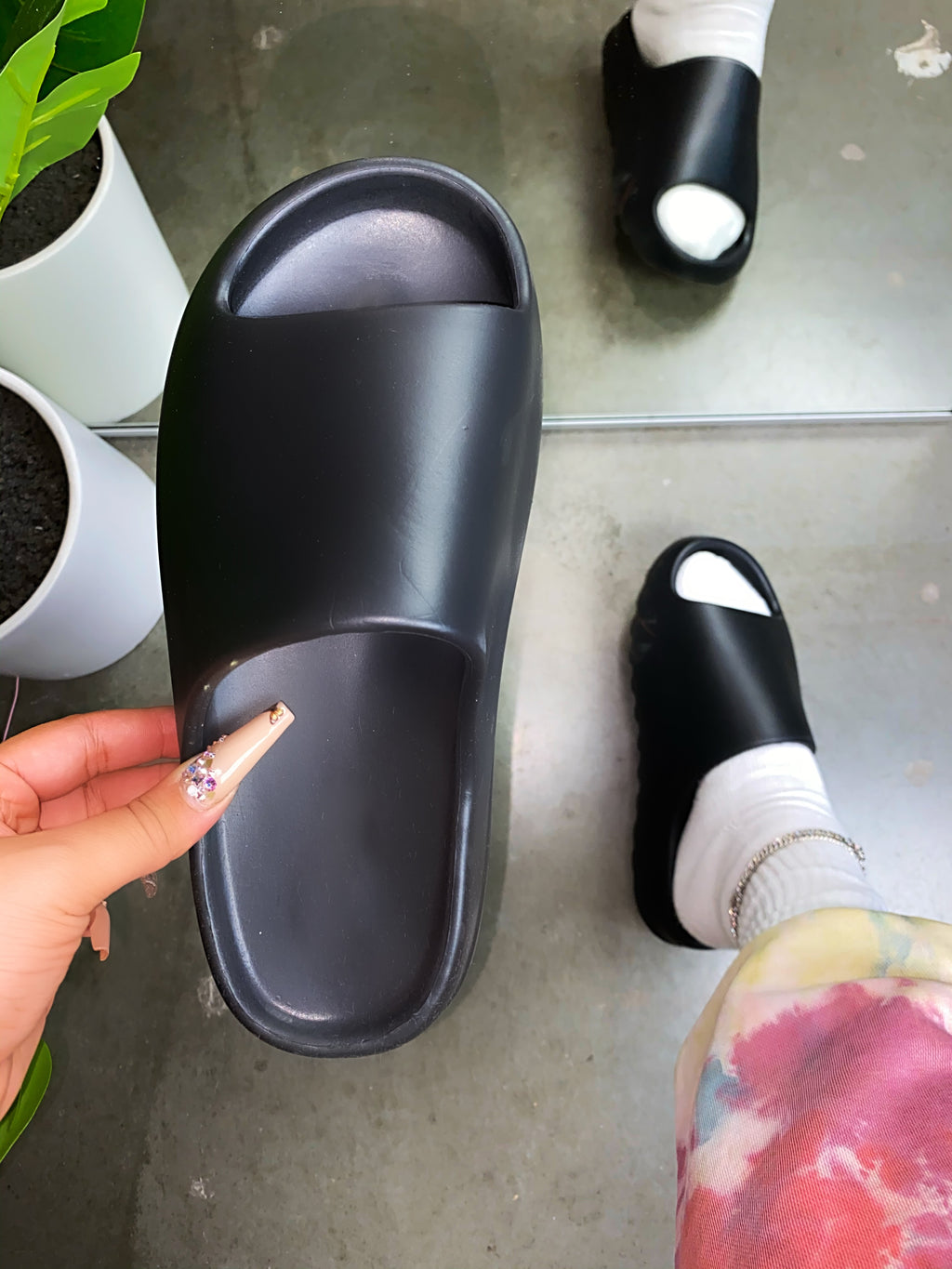 Saint Slippers - Black