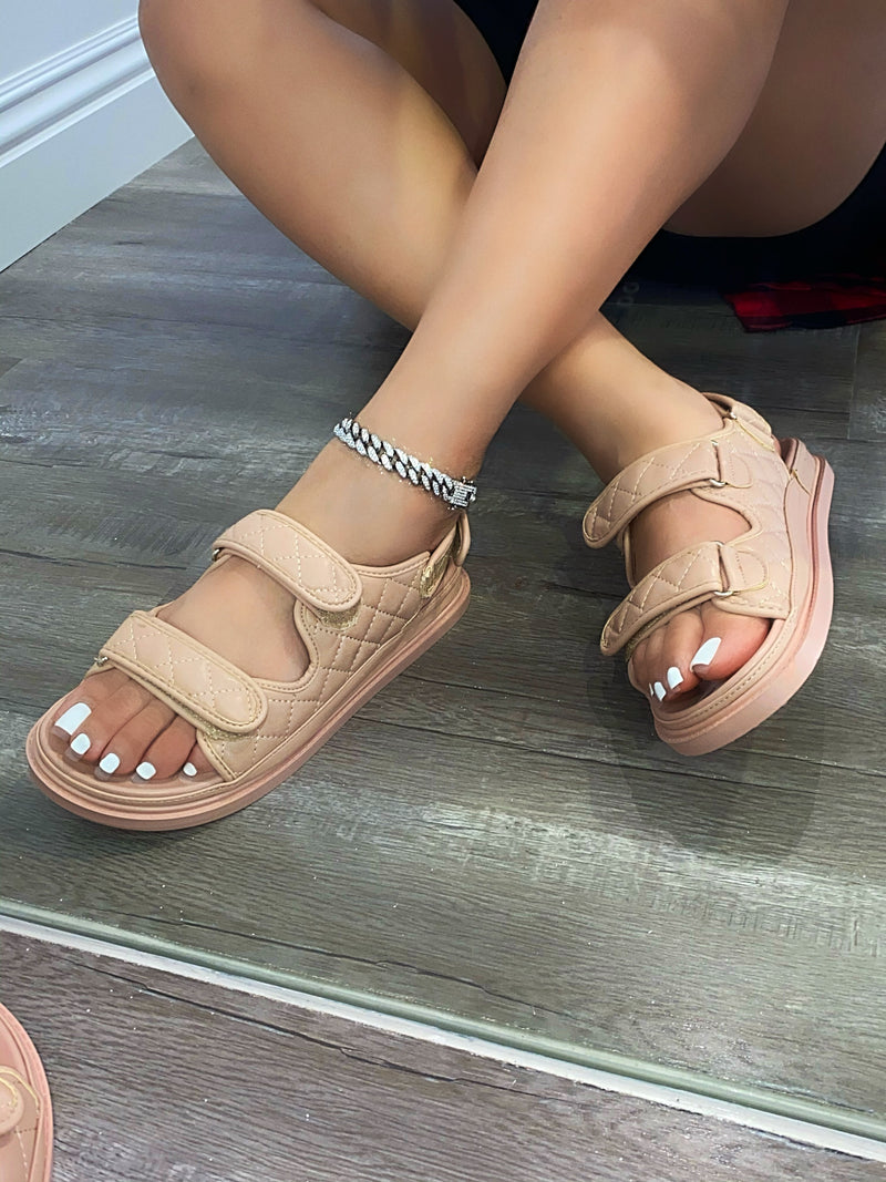Coco Sandals- Nude