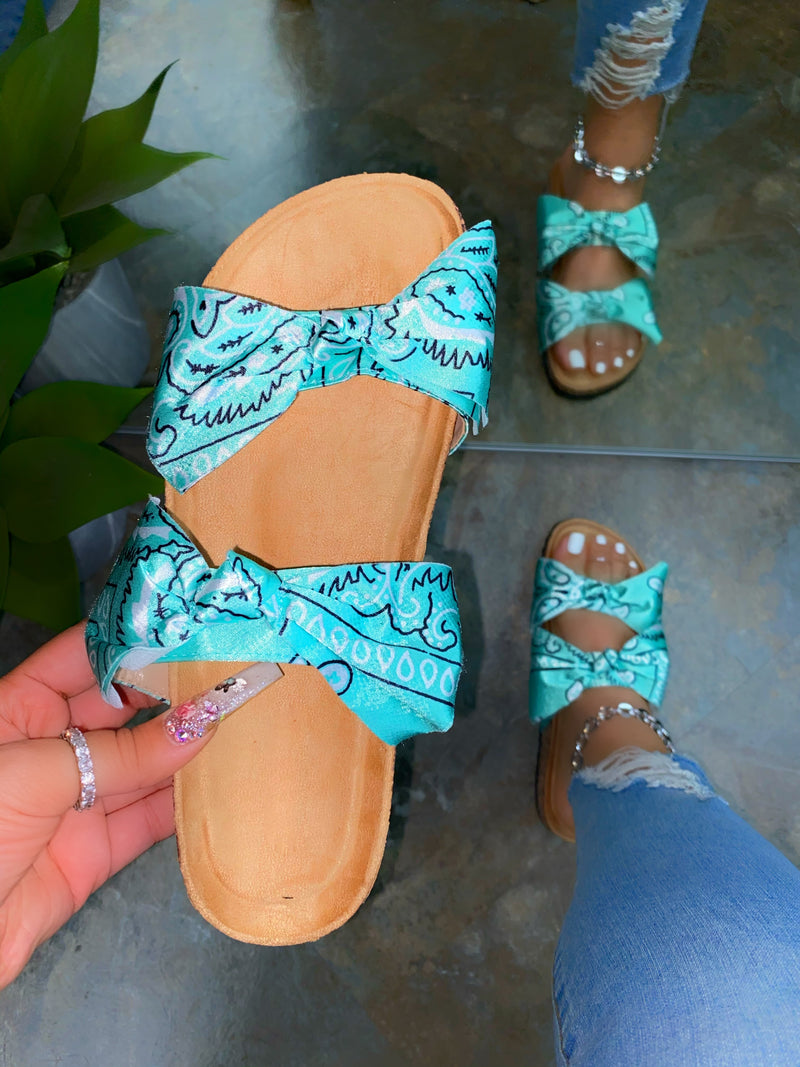 Sloane Sandals - Mint