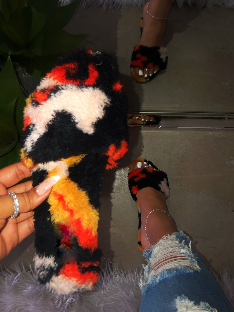 Sadie Slippers - Multi Color