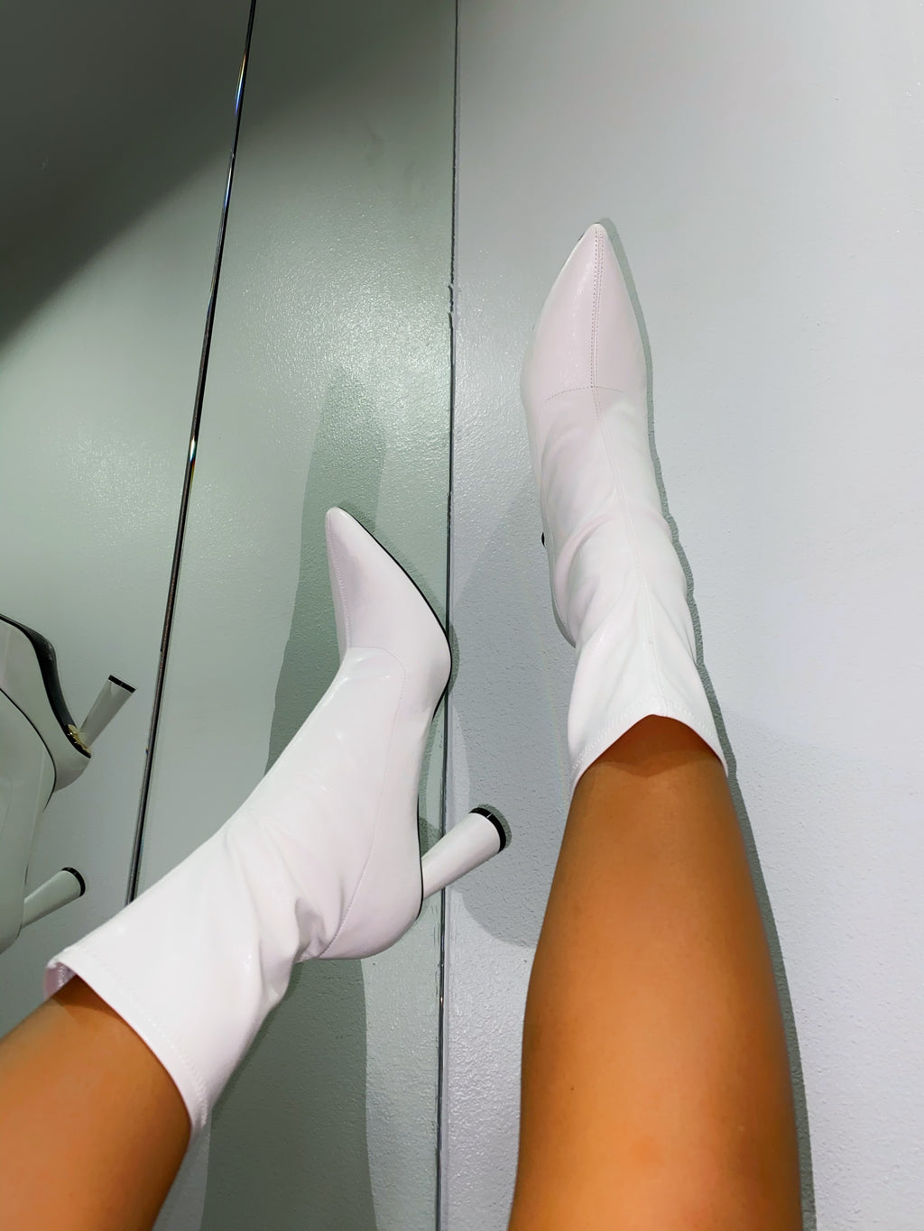 Remi Booties - White