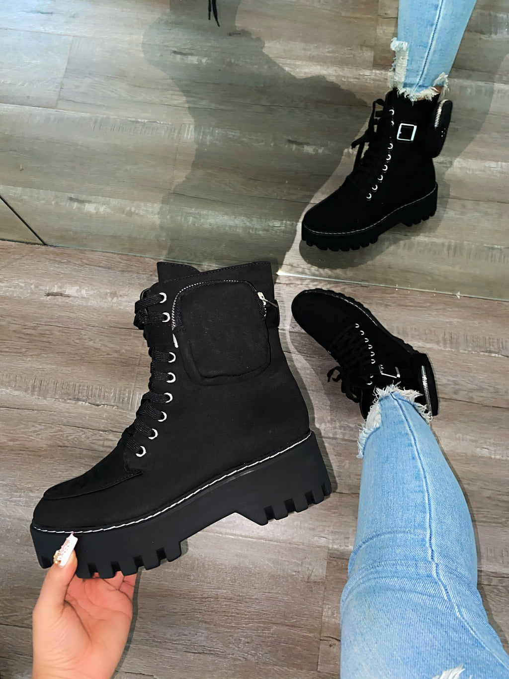 Millie Booties- Black