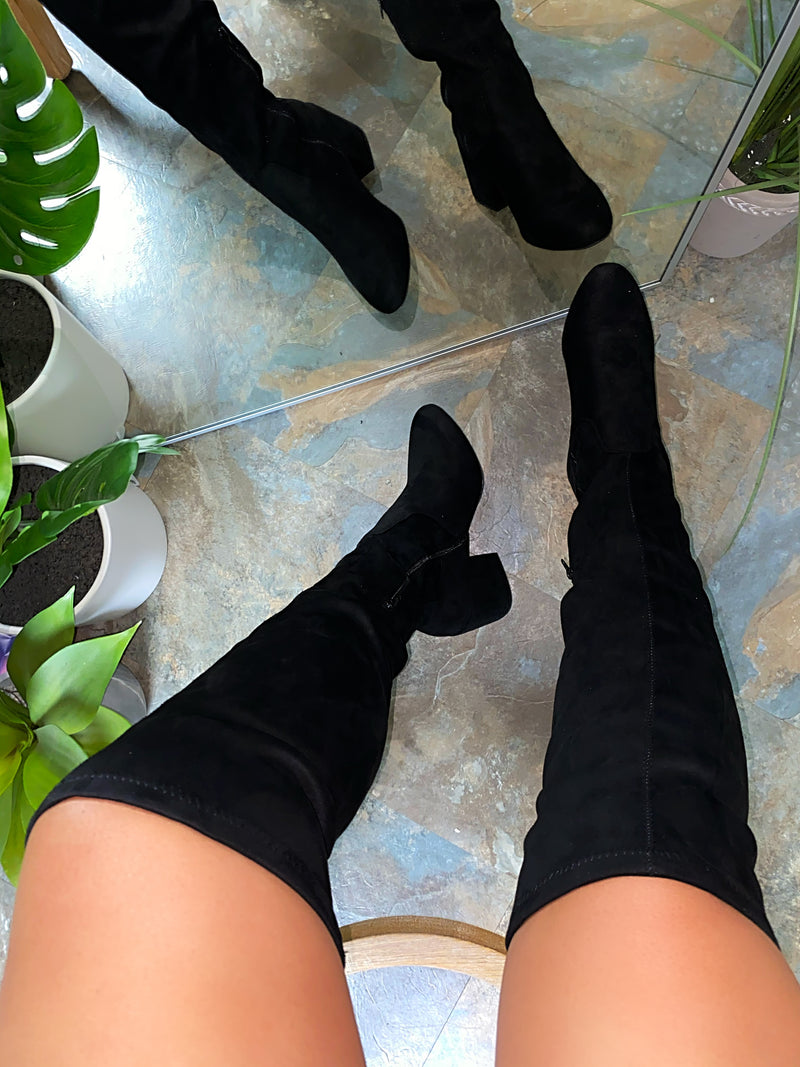 Jayla Booties - Black
