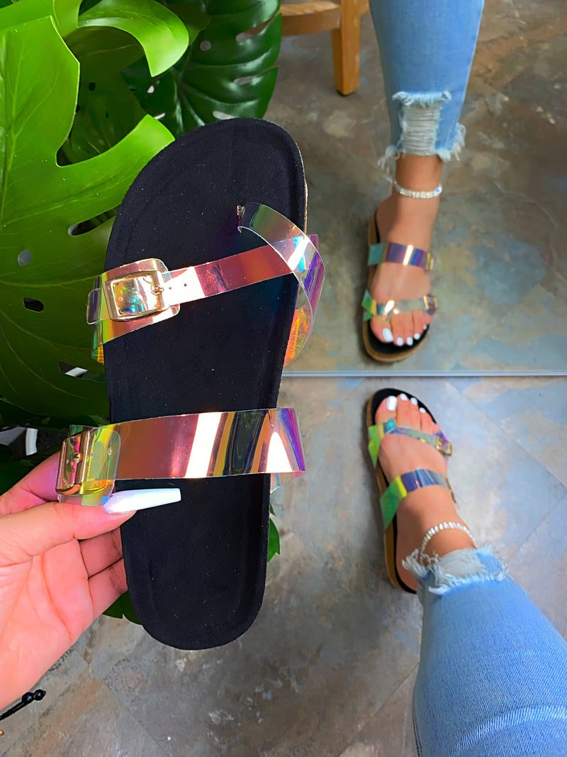 Delaney Sandals-Hologram