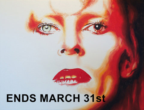 Bowie Sound and Vision Art Exhibition Ends March 31st.