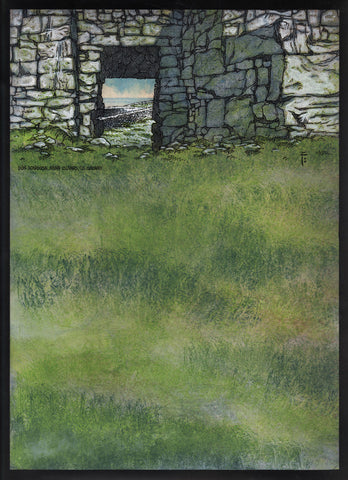 Dún Aongusa, Aran Islands, Co. Galway by Jim FitzPatrick - Green Gallery