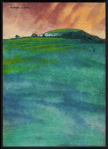 Newgrange, Co. Meath by Jim FitzPatrick - Green Gallery