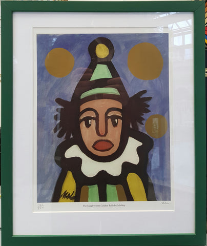 The Clown With Golden Balls by Markey Robinson - Green Gallery