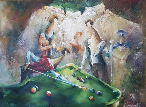 'Billiards Table' - Green Gallery
