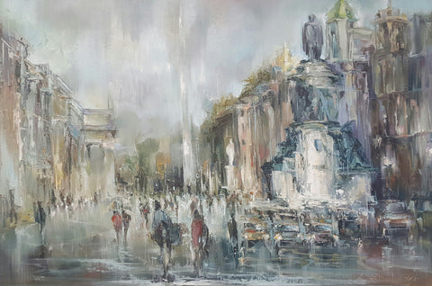 O'Connell Street. An Impression. - Green Gallery