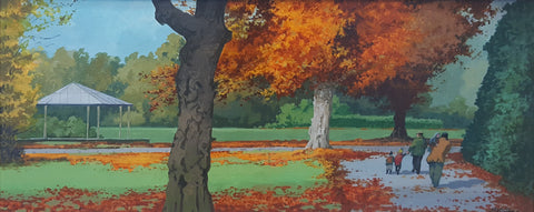 Autumn Bands. Stephens Green - Green Gallery
