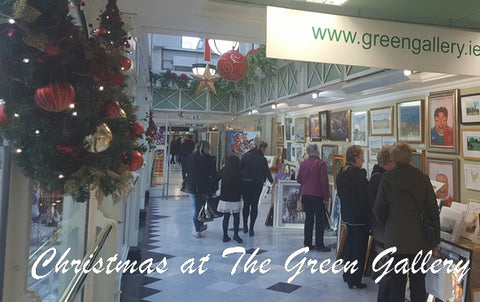 Happy Christmas From The Green Gallery - Green Gallery