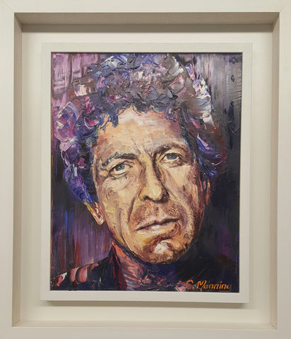 'I'm Your Man' Leonard Cohen - Green Gallery