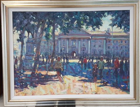 College Green, Sunny Afternoon by Norman Teeling