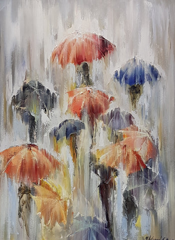 'Covered' (Umbrellas)