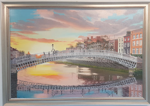 The Ha'Penny Bridge. A Certain Light