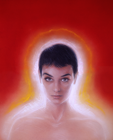 Sinead O'Connor. Faith and Courage 2 (circa 2001) - Green Gallery