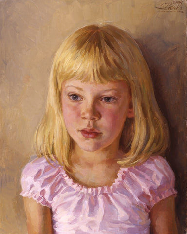Your Portrait in oils - Green Gallery