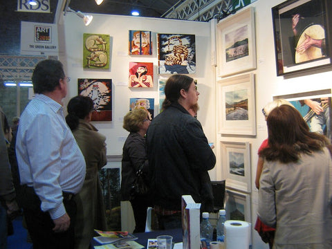 At the R.D.S. Art Show 2010 - Green Gallery