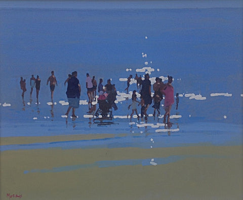 Inch Beach. Dingle Peninsula by John Morris - Green Gallery