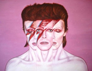 'David Bowie III Way' by Mark Baker - Green Gallery