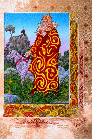 Breas.CÚ Brea by Jim FitzPatrick - Green Gallery