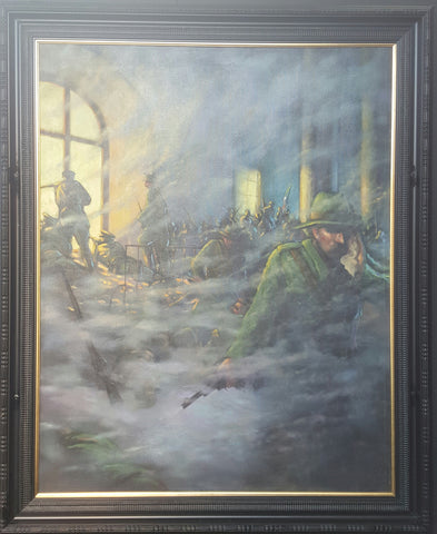 'The Beginning of the Siege' by Norman Teeling - Green Gallery