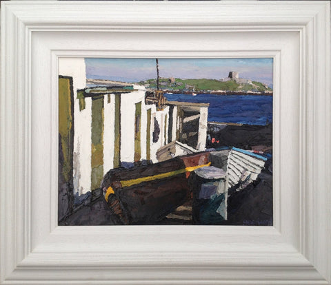 Resting Boats. Coliemore Harbour by Stephen Cullen