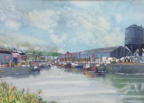 Boats Resting, Co. Wicklow - Green Gallery