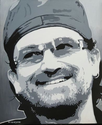 'Bono' by Brendan Higgins - Green Gallery